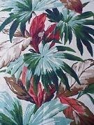 Vintage Tropical Fabric