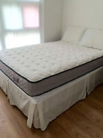 """DREAMY"" DOUBLE MATTRESS & BOXSPRING NEEDS NEW HOME"