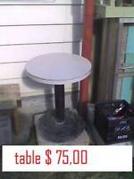 table $ 75,00