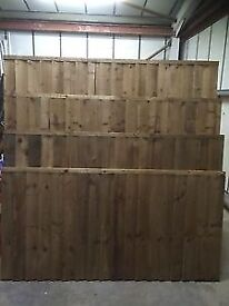 FENCE PANELS FEATHER EDGE CLOSE BOARD PANELS