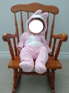 Pink Bunny Costume (3-6 mths)