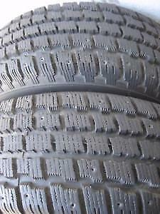 205/55R16 Cooper WInter master 4 USED WINTER TIRES 75%TREAD