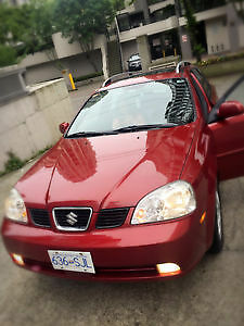 Suzuki Forenza WGN 05 RED with sun roof !!!!! **CarProof Report*