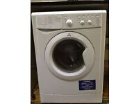 Indesit IWC6105 6kg 1000 Spin White A Rated Washing Machine 1 YEAR GUARANTEE FREE FITTING