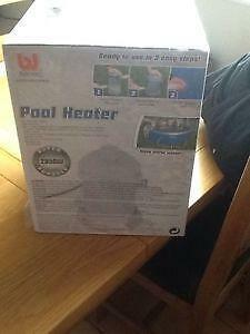 Pool heater ebay for Bestway pool for koi