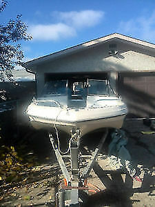 Fiberglass boat with trailer and all accessories asking 2999 obo