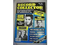 RECORD COLLECTOR MAGAZINES - 160 MAGS - V/G CONDITION - £20.00