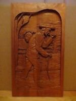 Handmade Wood Carving Picture