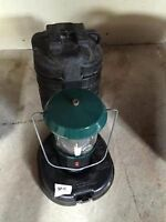 Used once,newer style camp lantern with case