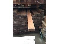 47 X 100 mm x 2.4 m PRESSURE BROWN TREATMENT WOODEN TIMBER