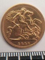 British Old Gold Coins: Queen Victoria Sovereign and King George