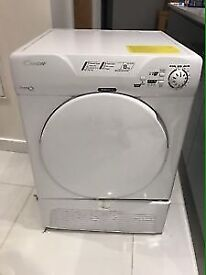 Sale candy 8kg condenser dryer 12 month warranty