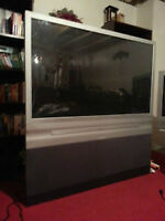 "52"" RCA flat screen tv with remote"