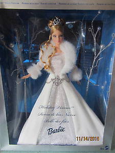 Holiday Barbie. BRAND NEW AND NOT REMOVED FROM BOX. Hard