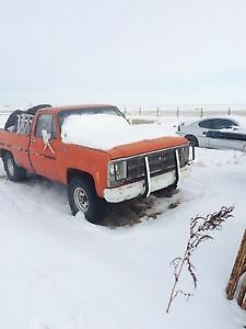 WANTED! Square body chev! Project