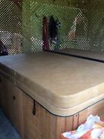 house sold  deal on modern hot tub cost $5000 need gone SAP