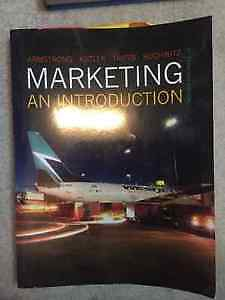 Marketing an Introduction U of M textbook