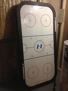 Has to Go!! Air Hockey table with paddles and pucks as pictured. Windsor Region Ontario image 1