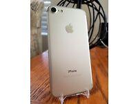 NEW iPhone 7, 128gb Silver, Unlocked & 12months warranty