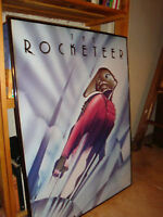 Vintage Art Deco Movie Poster THE ROCKETTEER