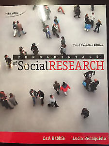 Fundamentals of Social Research SOSC3800 3rd edition