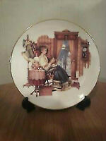 Victorian Lady Gold Trimmed Plate 2003-2004