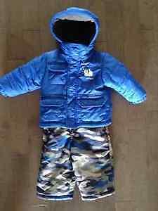 Manteau d'hiver & salopette