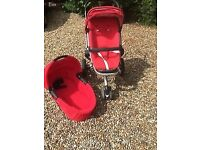 Quinny Buzz single seater travel system