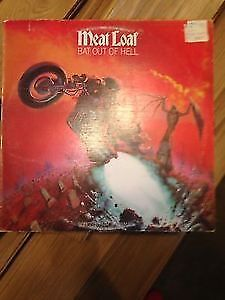 FS Meat Loaf Bat Out of Hell Vinyl Record