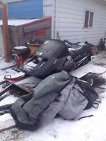 Cheap Ice Fishing or ditch banger sled
