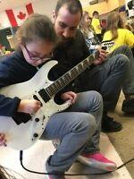 Guitar and ukulele instructor