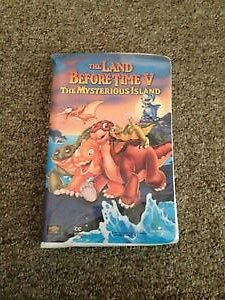 Little Bear & Land Before Time VHS Movies