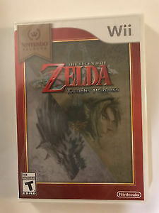 Zelda Twilight Princess for Wii - New