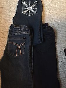 LOT OF GIRLS JEANS SIZE 8 and 10 ALL FOR 4.00 Edmonton Edmonton Area image 1