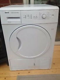 Beko DCU7230 7kg White Sensor Drying Condenser Tumble Dryer 1 YEAR GUARANTEE