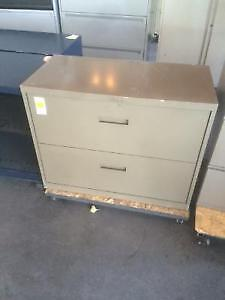 Used Two Drawer Filing Cabinets! Starting at $99 Each