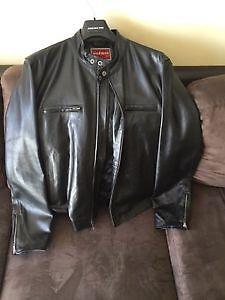 Manteau de cuir Tommy Hilfiger