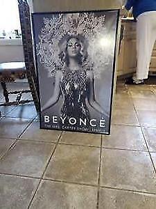 Beyonce poster like new