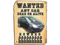 ALL VEHICLES WANTED FOR CASH