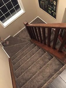 Carpet installer I have left over carpet can do stairs or room
