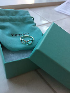 Authentic Tiffany & Co Silver Ring