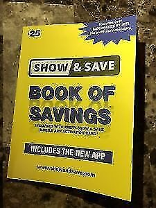 Sept 2019 Show & Save bk coupons to trade, swap, barter or sell