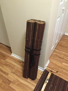 3 Bamboo Roman Shades (Blinds) Kingston Kingston Area image 2
