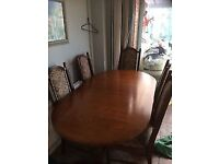 Dining table and chairs (FREE)