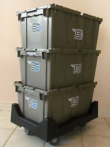 Cheap Rental Moving Bins // Do you need Moving Boxes