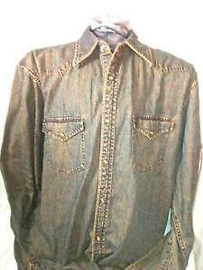 Vintage Western Shirt XL 86d334bb1911d