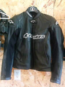Alpinestars Stella GP Plus leather jacket