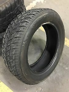 225/60R16 HONKOOK I PIKE  2 USED WINTER TIRES  90% tread left