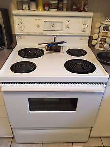 "30"" White Self-Clean *MCLARY* Stove (EVERYTHING INCLUDED!!)"