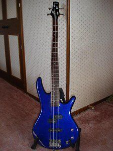 IBANEZ GSR200 BASS GUITAR - BLUE, GREAT CONDITION, WITH STRINGS